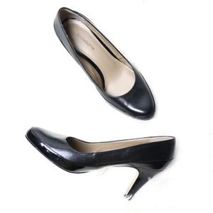 Liz Claiborne | Carmen Black Leather Pump